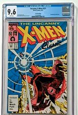 UNCANNY X-MEN #221 (1987 MARVEL) CGC 9.6 NM+ 2ND PRINTING! HIGHEST GRADED 1 OF 6