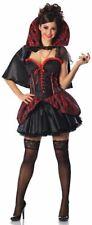 Delicious Haunted Mistress Costume, Black/Red, Medium