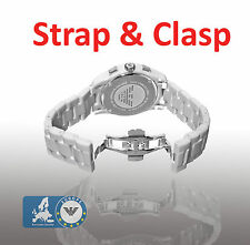 Emporio Armani AR1424 Watch Strap With Clasp Ceramic