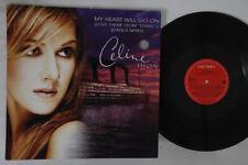 "12"" Celine Dion My Heart Will Go On 6653158 COLUMBIA Europe Vinyl"