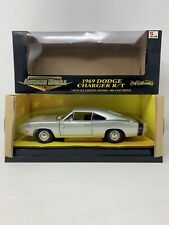 1:18 ERTL American Muscle 1969 Dodge Charger R/T Silver 32256