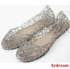 Below Cost Womens Crystal Shoes Summer Jelly Hollow Sandals Black US7=CN38