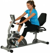 Recumbent Exercise Bike Cycle Indoor Fitness Cardio Exerpeutic Magnetic Pulse