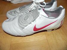 Nike Fussballschuhe Total 90 ninety FG Gr. 8,5 42 NEU weiß rot Leder RAR Lasche
