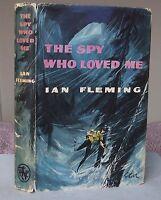Ian Fleming THE SPY WHO LOVED ME (James Bond 007) Book Club Edition