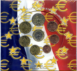 FRANCE COFFRET OFFICIEL BU 2004 8 PIÈCES !!!!