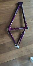 MTB 18 Zoll TREK 9900 OCLV Carbon Fahrradrahmen unverbaut lila von 1993 retro