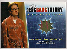 Big Bang Theory Season 5 Costume Card M35 Leonard Hoftstadter