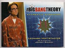 Big Bang Theory Season 5 Costume Card M35 Leonard Hoftstadter
