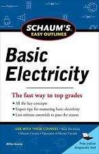 Schaum's Outline of Basic Electricity by Milton Gussow (English) Paperback Book
