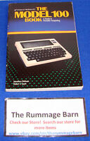 vintage for TANDY COMPUTER --- THE MODEL 100 BOOK guide to portable computing