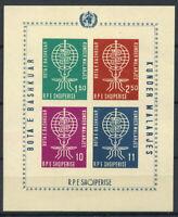 Albanien 1962 Mi. Bl. 7B Block 100% Postfrisch Der Kampf gegen die Malaria, die