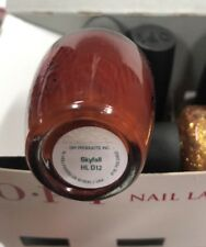 SKYFALL HL D12 OPI POLISH 007 SKYFALL WINTER 2012 COLLECTION LIMITED EDITION