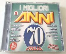 I MIGLIORI ANNI 70 CANZONI ITALIANE COMPILATION CD OTTIMO SPED GRATIS + ACQUISTI
