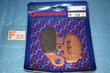 plaquettes de frein GOODRIDGE Kawasaki Z 750 1000 ZX-6R ZX-9R ZX-10R ER-6 Versys