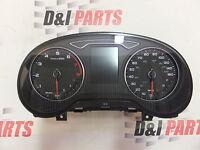 Audi A3 S3 8V USA 2.0 TFSI Benzin Kombiinstrument MPH KM/H Tacho 8V0920971Q