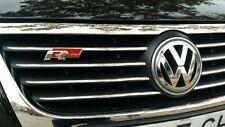 p6r, 3D Car  Logo Grille Sticker R line Badge Emblem VW Volkswagen Rline