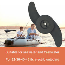 Marine Parts Trolling Motor 2 Blade Propeller For 32-46 lb Electric Outboard