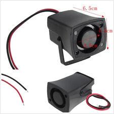 12 Black Vehicles Reverse Alarm Horn Warning Sound Backup Siren 110DB Waterproof