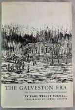 1962 The Galveston Era Texas Fornell Crescent Eve of Secession HBDJ