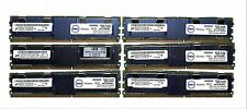 24GB (6x4gb) Micron PC2-5300F DDR2 Server Memory MT36HTF51272FZ-667H1D6