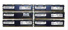 24GB (6x4gb) Micron PC2-5300F DDR2 Server Memory MT36HTF51272FZ-667H1D6