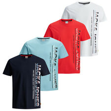 Jack & Jones Herren Kurzarm Rundhals T-Shirt JCOSTRUCTURE TEE Slim S M L XL XXL