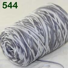 C Hot Sale 400gr Cotton Soft Cone Chunky Bulky Wrap Shawl Hand Knitting Yarn 44