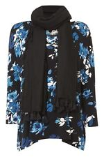 Viscose Stretch Singlepack Floral Tops & Shirts for Women