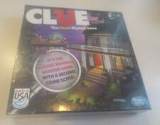 Clue The Classic Mansion Murder Mystery Game Hasbro 2013 Edition New Sealed
