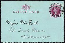 Gb 1900 1d Prepago Tarjeta Carta Rathmines, Dublin 14 Oct 1903 *