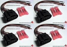 Audi VW Ignition Coil Connector Repair Kit Harness Plug Wiring x4