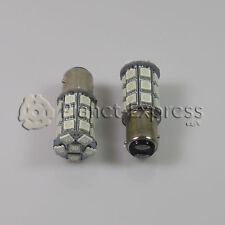 2 x Bombillas 27 LED SMD BAY15D Coche Freno y Posicion Bombilla Color Rojo 21/5w