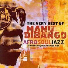 The Very Best of Manu Dibango: AfroSoulJazz by Manu Dibango (CD, Oct-2000, Mante