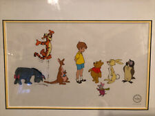 -Coa- Original Walt Disney Many Adventures Of Winnie Pooh Serigraph SeriCel