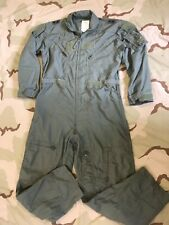 FLIGHT SUIT COVERALLS FLYER'S SUMMER FIRE RESISTANT 2 STAR GENERAL RANK 44R