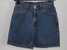 Levis 511 womens cotton blue denim short size 7 JR