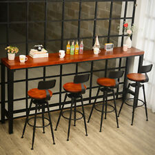 Industrial Vintage Retro Metal Craft Breakfast Bar Stool Cafe Counter Chair UK