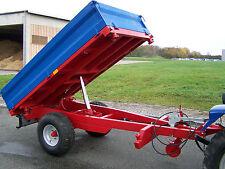 KRÜMA! DK2500 Einachs Kipp Anhänger 3-Seiten Kipper 2,5 t Straßenzulassg möglich