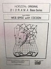 WEB BASE with COCOON 1:5 scale Resin Diorama Model Kit by HORIZON 1996