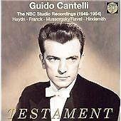 "CD x 2 TESTAMENT SBT 2194 ""The NBC Studio Recordings 1949-1954"" - Guido Cantelli"