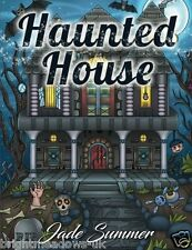 Haunted House Adult Colouring Book Ghosts Ghouls Horror Gothic Creepy Halloween