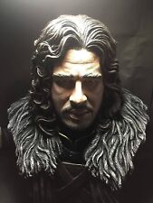 """1/2 Jon Snow Game of Thrones Bust Figure Model Finished Product Resin Kit 18"""""""