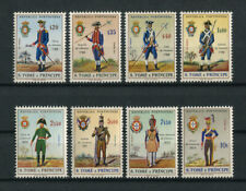 Portugal St. Thomas Sao Tome 1965 MILITARY UNIFORMS complete set MNH, FVF