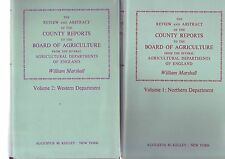 The Review and Abstract of the County Reports to the Board of Agriculture 5 Vols