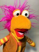 "Jim Henson's Fraggle Rock Gobo Orange Plush 2017 Toy Factory 12"" Stuffed Doll"