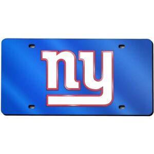 New York NY Giants Logo Mirror Look LASER License Plate