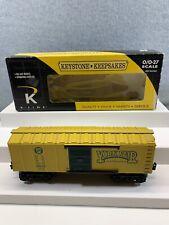 K-LINE K-5154014 PRR YORK FAIR BOXCAR Train O Scale Original Box