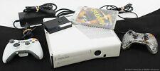 New listing Microsoft Xbox 360 S 320Gb White Game Console Bundle Model 1439