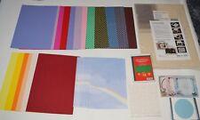 Glitterkarton Glitzerpapier Glitzerkarton Set Auswahl rot blau weiß grün pink